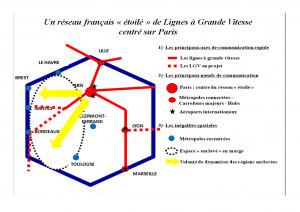 carte du réseau ferré français